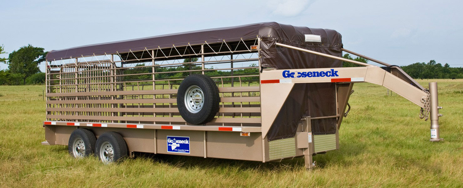 Mbj Trailers Trailers Steel Stock Goosenecks